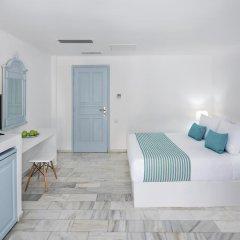 Отель Santorini Kastelli Resort 5* Улучшенный номер с различными типами кроватей фото 9