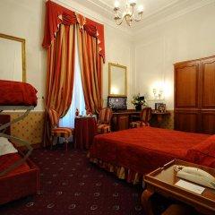 Hotel Giulio Cesare 4* Стандартный семейный номер с двуспальной кроватью фото 3