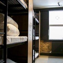 Отель Publove @ Exmouth Arms Euston 2* Кровать в общем номере с двухъярусной кроватью фото 8