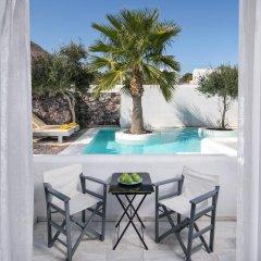 Отель Santorini Kastelli Resort 5* Улучшенный номер с различными типами кроватей фото 17
