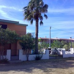 Отель VIlletta al mare in Sardegna Синискола парковка