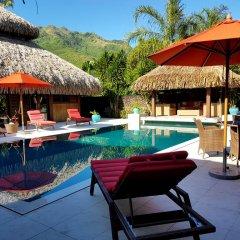 Отель Villa Lagon by Tahiti Homes Французская Полинезия, Папеэте - отзывы, цены и фото номеров - забронировать отель Villa Lagon by Tahiti Homes онлайн бассейн