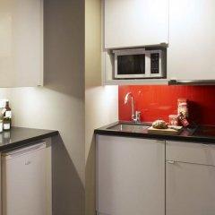 Отель Citadines Trafalgar Square London 3* Апартаменты с различными типами кроватей фото 10
