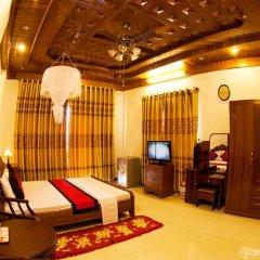 Отель Hoa Mau Don Homestay Номер Делюкс с различными типами кроватей