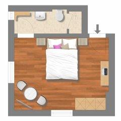 Отель APARTHOTEL Familie Hugenschmidt 3* Номер с общей ванной комнатой с различными типами кроватей (общая ванная комната) фото 10
