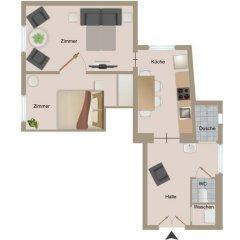 Апартаменты Vienna Prestige Apartments Graben Полулюкс фото 30