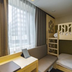 aFIRST Hotel Myeongdong 3* Стандартный семейный номер с двуспальной кроватью фото 7