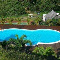 Отель Villa Ava Французская Полинезия, Муреа - отзывы, цены и фото номеров - забронировать отель Villa Ava онлайн бассейн