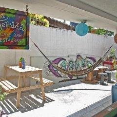 La Hamaca Hostel Кровать в общем номере с двухъярусной кроватью фото 7