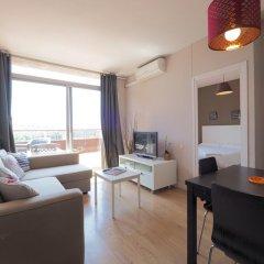 Отель Penthouse Sants Station Барселона комната для гостей фото 3