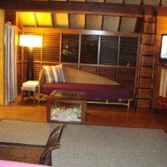 Отель Bora Bora Bungalove Французская Полинезия, Бора-Бора - отзывы, цены и фото номеров - забронировать отель Bora Bora Bungalove онлайн комната для гостей фото 5