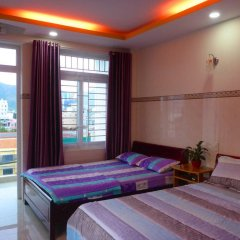 Azure Hotel Нячанг комната для гостей фото 4