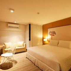 I Residence Hotel Silom 3* Номер Делюкс с различными типами кроватей фото 14
