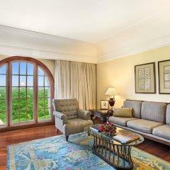 Отель The Oberoi Amarvilas, Agra 5* Люкс повышенной комфортности с различными типами кроватей фото 6