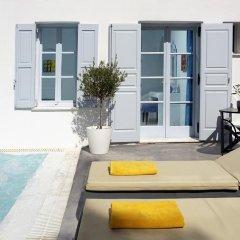 Отель Santorini Kastelli Resort 5* Улучшенный номер с различными типами кроватей фото 18