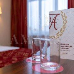 Амакс Премьер Отель Стандартный номер разные типы кроватей фото 10