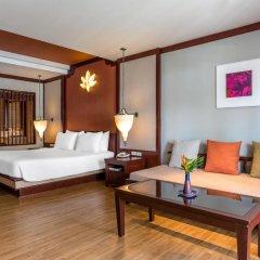 Отель Novotel Samui Resort Chaweng Beach Kandaburi 4* Улучшенный номер с различными типами кроватей фото 4