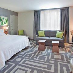 Отель Hilton Garden Inn New York/Central Park South-Midtown West 3* Полулюкс с различными типами кроватей фото 8