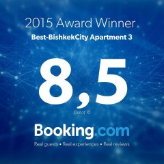 Отель Best-BishkekCity Apartment 3 Кыргызстан, Бишкек - отзывы, цены и фото номеров - забронировать отель Best-BishkekCity Apartment 3 онлайн с домашними животными
