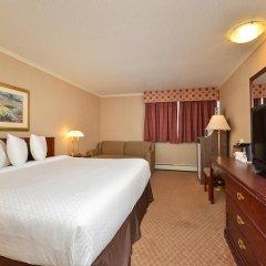 Отель Econo Lodge South Calgary Канада, Калгари - отзывы, цены и фото номеров - забронировать отель Econo Lodge South Calgary онлайн комната для гостей фото 5