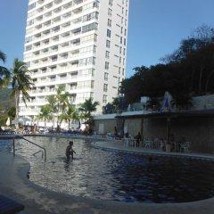 Отель Condominio Torre Blanca Acapulco бассейн