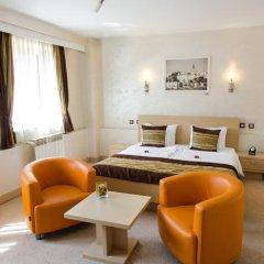 Euro Garni Hotel 4* Стандартный номер с различными типами кроватей фото 7