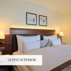 Отель Mont Cervin Palace 5* Улучшенный номер с различными типами кроватей фото 5