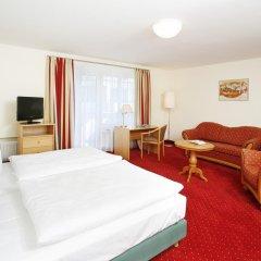 Hotel Biederstein am Englischen Garten 3* Стандартный номер с двуспальной кроватью