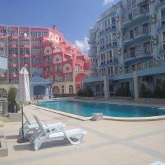 Отель Sunny Dream Apartments Болгария, Солнечный берег - отзывы, цены и фото номеров - забронировать отель Sunny Dream Apartments онлайн бассейн