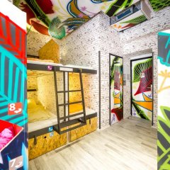 Chillout Hostel Zagreb Кровать в общем номере с двухъярусной кроватью фото 31