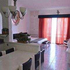 Отель Solymar Cancun Beach Resort 3* Студия Делюкс с различными типами кроватей фото 11
