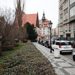 Отель My House Travel Прага парковка