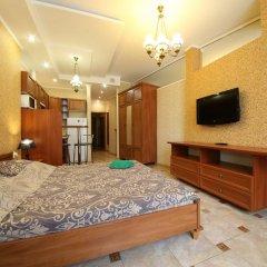 Гостиница Май Стэй Улучшенная студия разные типы кроватей фото 4