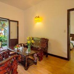 Отель Agribank Hoi An Beach Resort 3* Люкс повышенной комфортности с различными типами кроватей фото 6