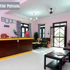 Отель Fine Pokhara Непал, Покхара - отзывы, цены и фото номеров - забронировать отель Fine Pokhara онлайн интерьер отеля фото 3