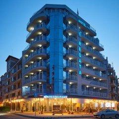 Отель Family Hotel Regata Болгария, Поморие - отзывы, цены и фото номеров - забронировать отель Family Hotel Regata онлайн вид на фасад фото 4