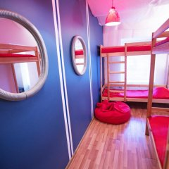 Хостел Фрегат Кровать в общем номере с двухъярусной кроватью фото 4