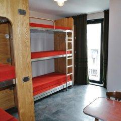 Train Hostel Кровать в женском общем номере с двухъярусной кроватью фото 8