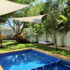 Отель Hostal Ecoplaneta Мексика, Канкун - отзывы, цены и фото номеров - забронировать отель Hostal Ecoplaneta онлайн бассейн фото 2