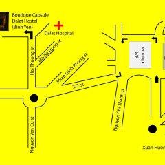Boutique Capsule Dalat Hostel Далат парковка