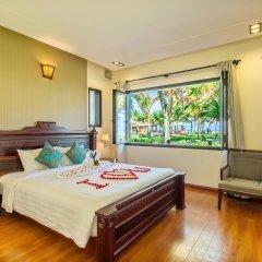 Отель Agribank Hoi An Beach Resort 3* Вилла с различными типами кроватей фото 13