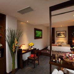Silverland Sakyo Hotel & Spa 4* Номер Делюкс фото 4