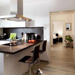 Отель Leipzig Apartmenthaus 3* Номер категории Эконом с различными типами кроватей фото 3