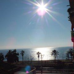 Hotel Mitus пляж