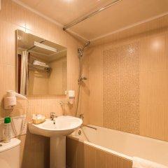Гостиница Челябинск 4-й этаж ванная