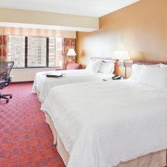 Отель Hampton Inn Gateway Arch Downtown 3* Стандартный номер с различными типами кроватей фото 11
