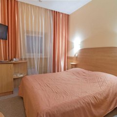 Гостиница Луна Екатеринбург комната для гостей фото 5