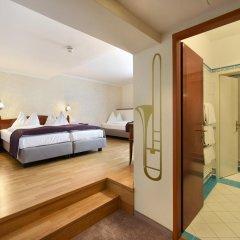 Hotel Am Schubertring 4* Улучшенный номер с различными типами кроватей фото 4