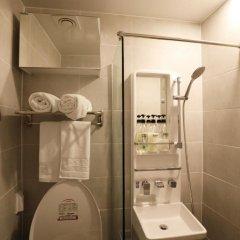 Отель STEP INN Myeongdong 1 3* Стандартный номер с двуспальной кроватью