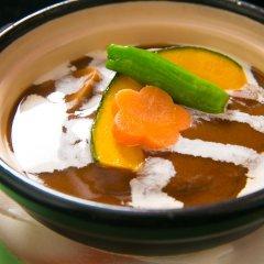 Отель Kinosato Yamanoyu Япония, Минамиогуни - отзывы, цены и фото номеров - забронировать отель Kinosato Yamanoyu онлайн питание фото 3